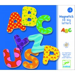 30 BIG LETTERS MAGNETIQUE