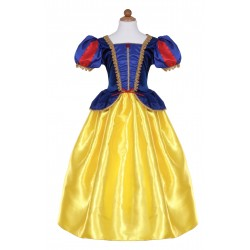 ROBE BLANCHE NEIGE DELUXE - 5/6ANS