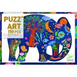 PUZZ ART ELEPHANT