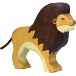 PERSONNAGE BOIS - LION