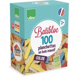 BATIBLOC COULEUR 100 PIECES