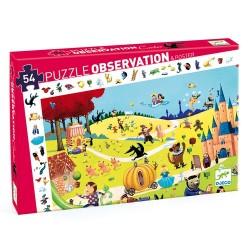 PUZZLE OBSERVATION LES CONTES 54 PCS