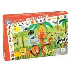 PUZZLE OBSERVATION - LA JUNGLE 35 PCS