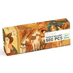 PUZZLE GALLERY - JARDIN DE LICORNES (500 PCS)