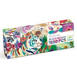 PUZZLE GALLERY - RAINBOW TIGERS 1000PCS