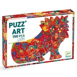 PUZZ'ART - LION (150 PIECES)