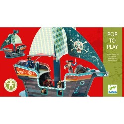 POP TO PLAY - BATEAU PIRATE 3D